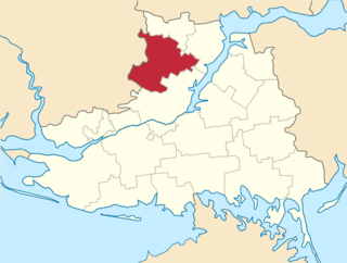 Velyka Oleksandrivka Raion Former subdivision of Kherson Oblast, Ukraine
