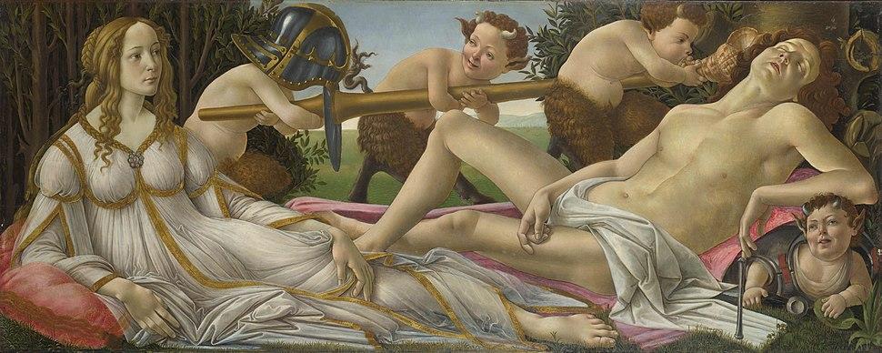 Venus and Mars National Gallery