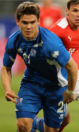 Viðar Örn Kjartansson - Viðar playing for Iceland in 2014