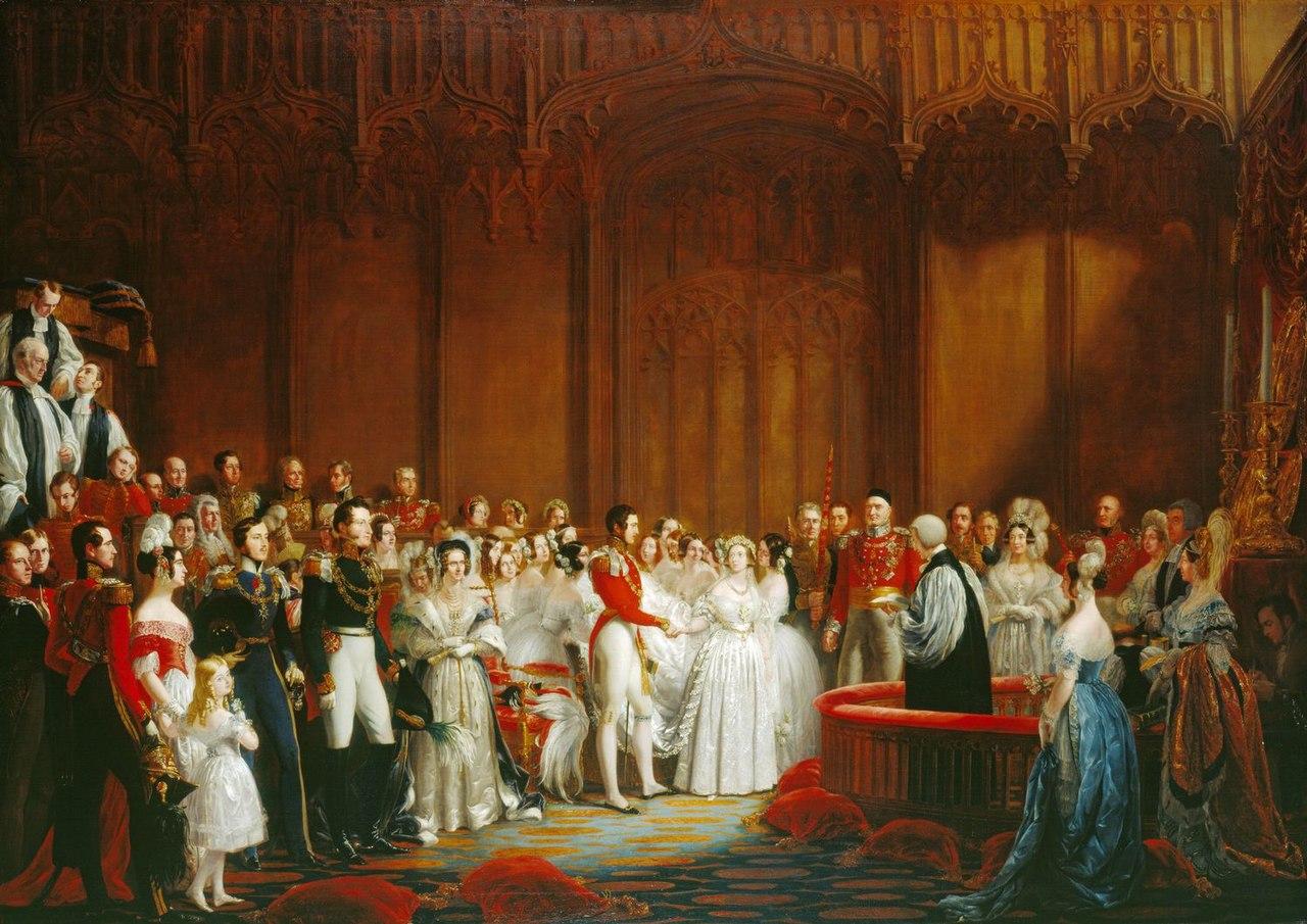 Queen Victoria's Wedding Dress