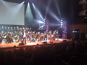 Jack Wall (composer) - October 24, 2008 Video Games Live performance with Wall as the conductor