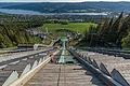 View Down Lysgårdsbakken, Lillehammer 20150616 1.jpg