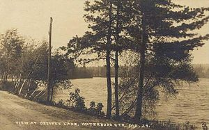 Waterboro, Maine - Little Ossipee Lake in 1910