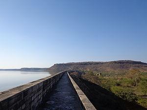 Tigra Dam - right side view