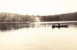 Marlboro, Vermont - South Pond in 1908