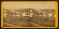 View of unidentified industrial buildings on a river, from Robert N. Dennis collection of stereoscopic views.png