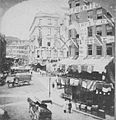 View of unidentified street with commerical businesses and traffic, from Robert N. Dennis collection of stereoscopic views detail3.jpg