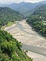 View upstream along the Zengwen River towards Dapu Bridge, 1st October 2020.jpg