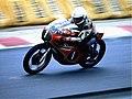 Villa, Walter auf Harley 250 cm³ 1976-08-28.jpg