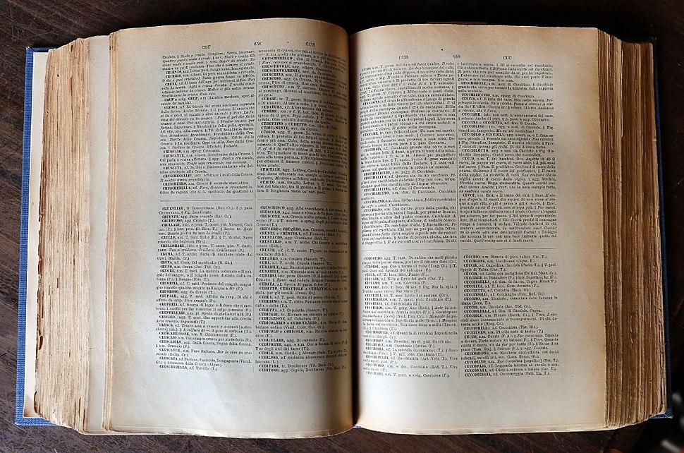 Villa di castello, biblioteca dell'accademia della crusca, dizionario petrocchi 02 crusca