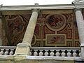 Villa medicea di artimino (la ferdinanda), loggetta con affreschi.JPG