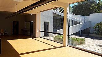 Villa Savoye - External ramp to the second floor