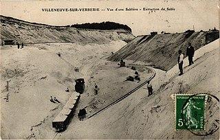 Tramway at Villeneuve-sur-Verberie