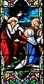 Villeréal - Église Notre-Dame - Vitrail de la vie de Marie -4.jpg