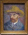 Vincent van gogh, autoritratto con cappello di paglia (sul retro pelatrice di patate), 1887, 01.JPG
