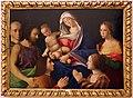 Vincenzo catena (attr.), madonna col bambino, santi e donatori, 1510 ca. 02.jpg