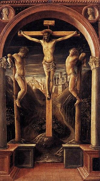 Vincenzo Foppa - Crucifixion (1456)