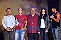 Vipul Shah, Dilip Ghosh, Pooja Chopra, Vidyut Jamwal at 'Commando' launch.jpg