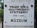 Virágh-kúria, múzeum tábla, 2019 Kunszentmiklós.jpg