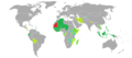 Visa requirements for Mauritanian citizens.png