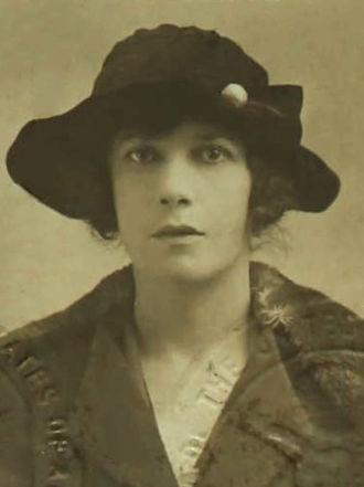 T. S. Eliot - Vivienne Haigh-Wood Eliot, passport photograph from 1920.