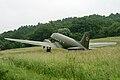 Vojenske lietadlo Li 2 v chotari Vysneho Komarnika.jpg