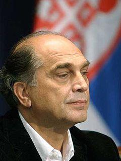 Vojislav Brajović Serbian actor and politician