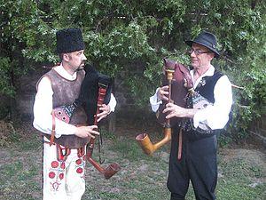 Music of Vojvodina - Gaida duo.
