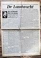 "Voorpagina Vlaams Katholiek dagblad ""De Landwacht"" 6 Mei 1941.jpg"