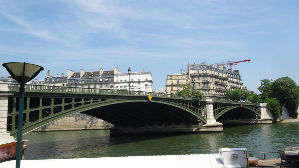 Pont de sully wikip dia for Carrelage du sud boulevard saint germain