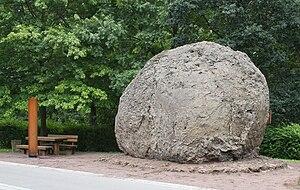 Strohn - Lava bomb at Strohn