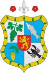 Huy hiệu của Huyện Vynohradiv