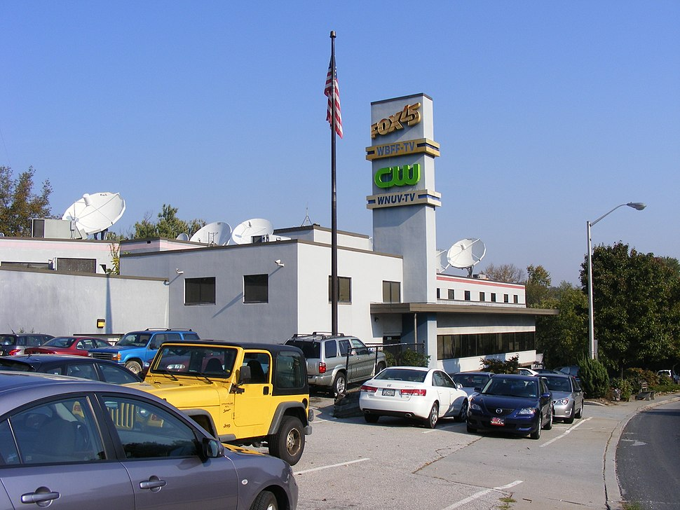 WBFF and WNUV's combined studio and office facility (Baltimore, 2007)