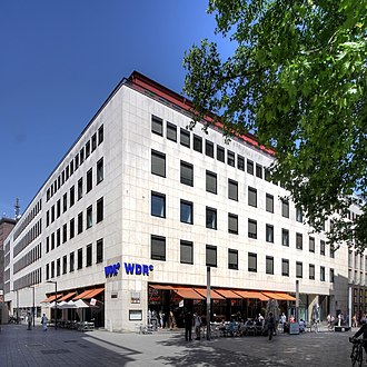 Studio for Electronic Music (WDR) - WDR Broadcasting Centre, Wallrafplatz, Cologne: home of the studio from 1952 to 1986