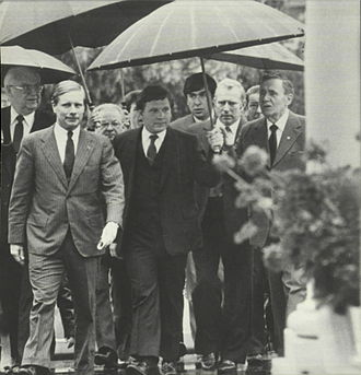 William Flynn Martin - Martin escorting Soviet Foreign Minister Gromyko to meeting with Ronald Reagan