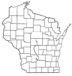 Location of Sumpter, Wisconsin