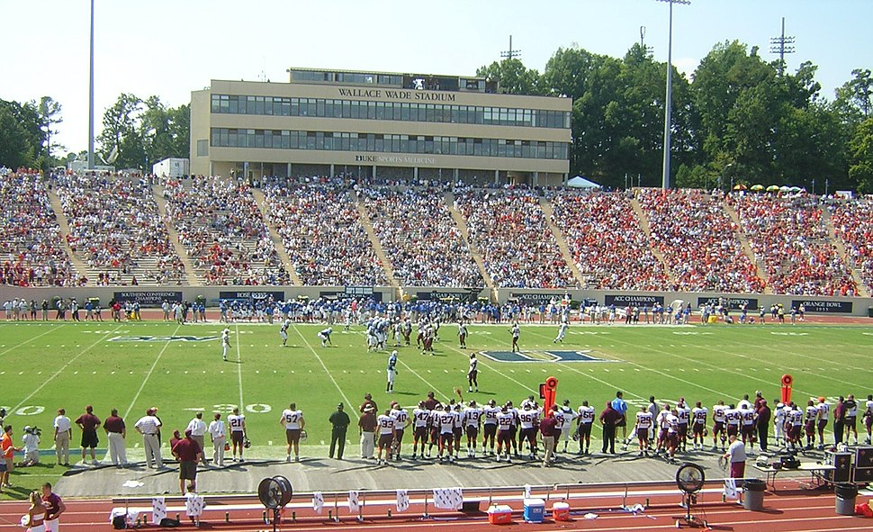 Wallace Wade Stadium 2005 Virginia Tech at Duke