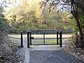 Walsall Canal - Wednesbury - gate (37657338935).jpg