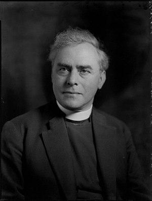 Walter Matthews (priest) - Matthews in 1935