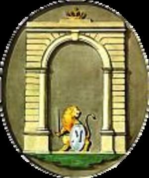 Coat of arms of Munich - Image: Wappen München 1808 1818