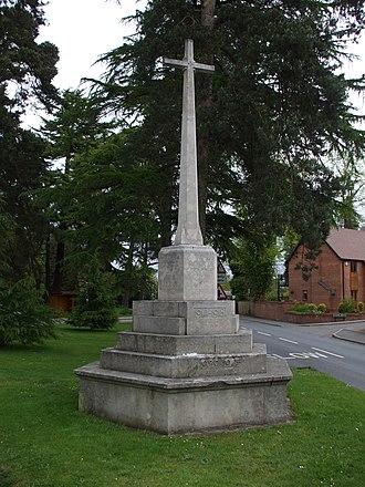 Hampton in Arden - War Memorial