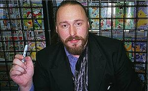 Warren Ellis, comic book writer known for his ...