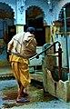 Water pump, Varanasi (15563170660) Cropped.jpg