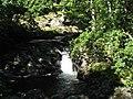 Waterfall on Afon Gamlan - geograph.org.uk - 533861.jpg