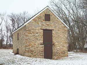 Waverly (Marriottsville, Maryland) - Image: Waverly Storehouse Jail Marriottsville MD Jan 11
