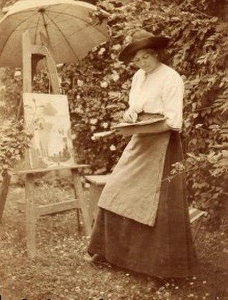 Wilhelmina Weber Furlong - Weber Furlong 1898 in Paris