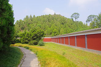 Wei Qing - Tomb of Wei Qing in Xingping, Shaanxi