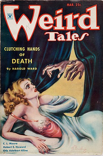 Jewels of Gwahlur - Image: Weird Tales March 1935