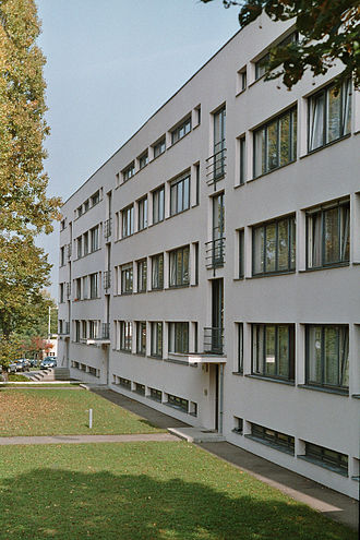 Deutscher Werkbund - Building by Mies van der Rohe in the Weissenhof Estate (1927)