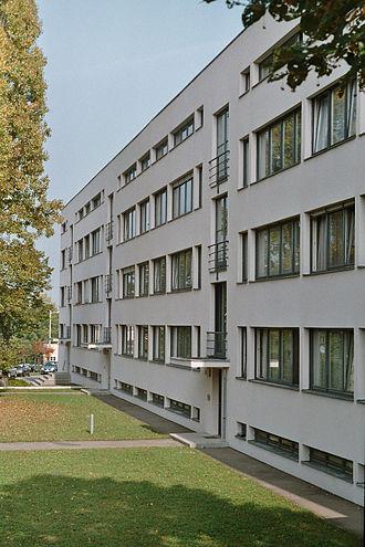 Deutscher Werkbund - Building by Mies van der Rohe in the Weissenhof Estate (1927)